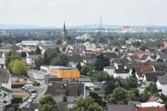 Jügesheim  Aussicht vom Wasserturm